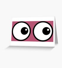 Eyes RU Greeting Card