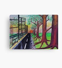 City meets country Canvas Print
