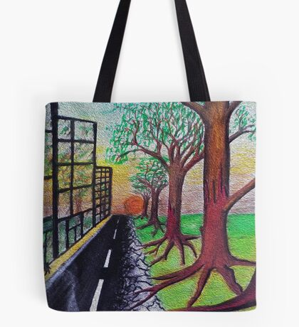City meets country Tote Bag