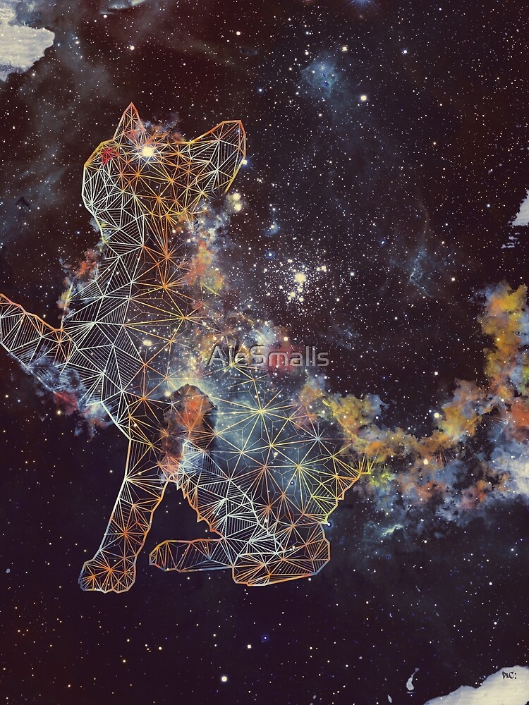 Celestial Cat  by AleSmalls