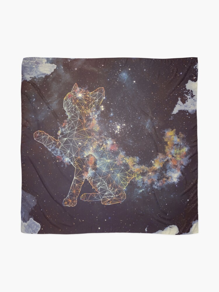 Alternate view of Celestial Cat  Scarf