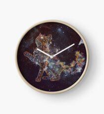 Celestial Cat  Clock