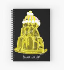 Banana Jello Rat, tony fernandes Spiral Notebook