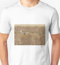 Short-eared Owl Hunting in East sussex T-Shirt