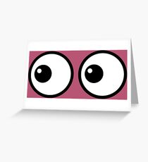 Eyes LU Greeting Card