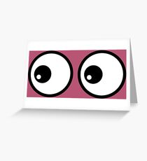 Eyes LD Greeting Card