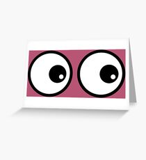 Eyes RD Greeting Card