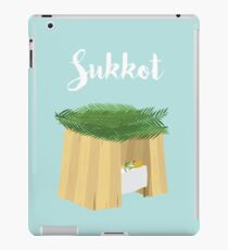 Warm Sukkot Booth of Togetherness and love iPad Case/Skin
