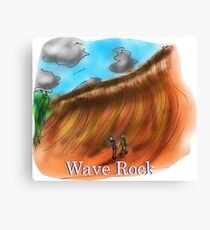Wave Rock - Western Australia Canvas Print