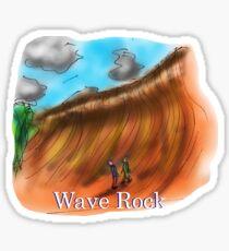 Wave Rock - Western Australia Sticker