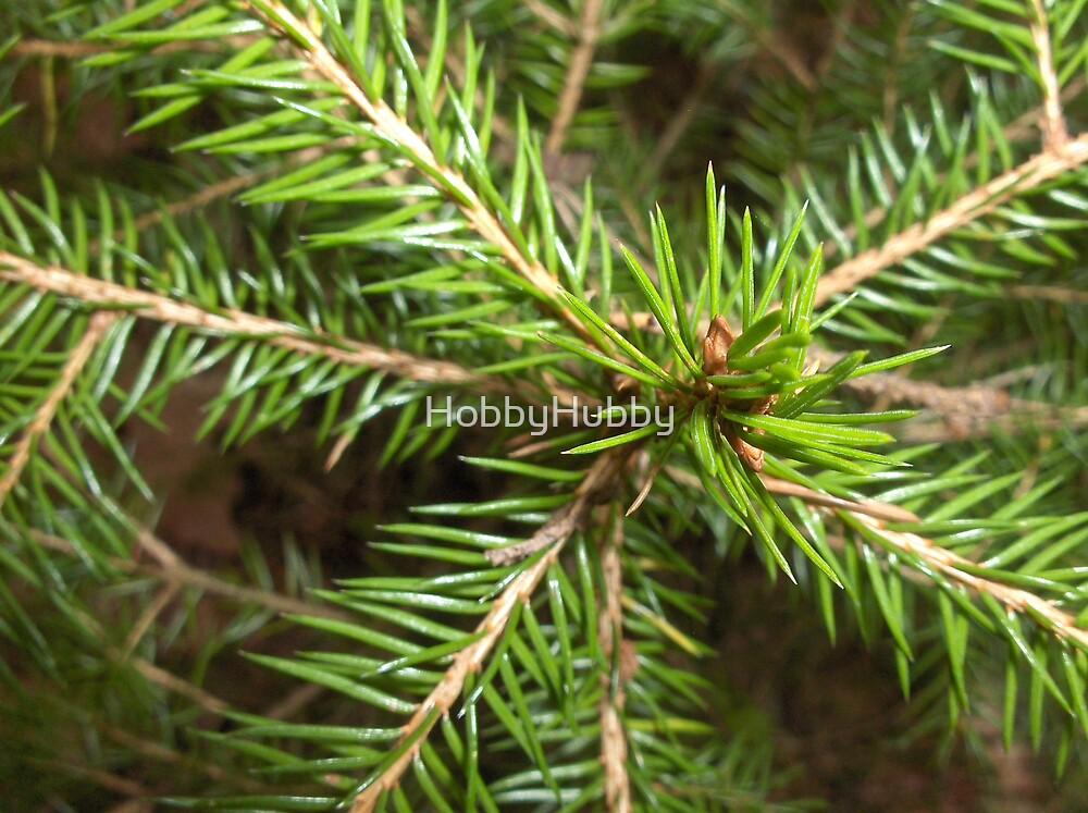 Pine needles by HobbyHubby