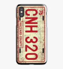 Dukes of Hazzard - General Lee License Plate iPhone Case