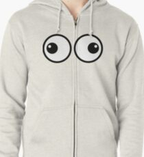 Eyes Out Zipped Hoodie