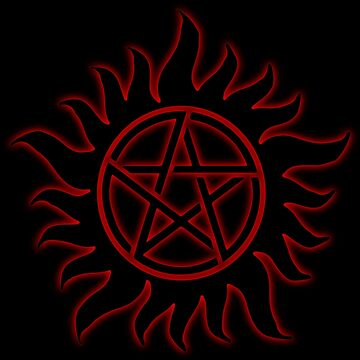Anti Possession Sigil Red Glow by Falln