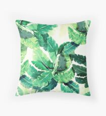 tropical vibes 2 Throw Pillow