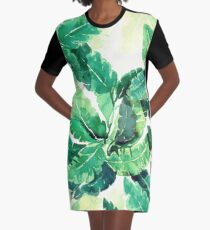 tropical vibes 2 Graphic T-Shirt Dress