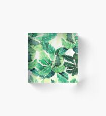 tropical vibes 2 Acrylic Block
