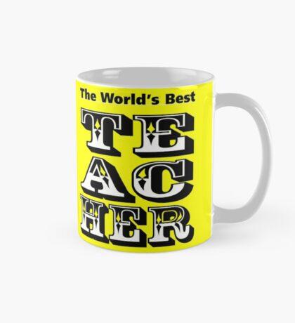 The World's Best Teacher Mug