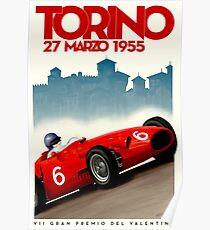 TORINO GRAN PREMIO: Vintage Auto Racing Print Poster