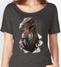 Velociraptor Dinosaur Women's Relaxed Fit T-Shirt