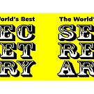 The World's Best Secretary by Nigel Sutherland