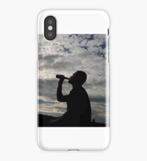 Sihouette iPhone Case