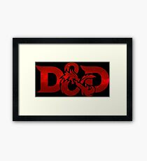 Role-playing game (RPG) Framed Print
