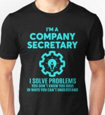 COMPANY SECRETARY - NICE DESIGN 2017 Unisex T-Shirt