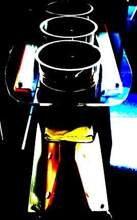 champagne buckets by kitza