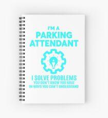 PARKING ATTENDANT - NICE DESIGN 2017 Spiral Notebook