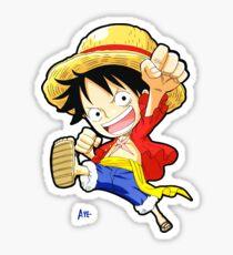 Luffy One Piece Chibi Sticker