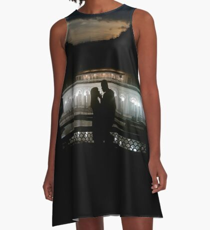 I Am Black Love A-Line Dress