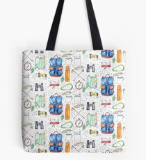 Hiking Essentials Tote Bag