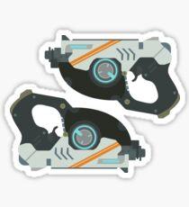 Tracer Guns Sticker