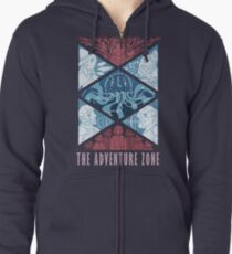 The Adventure Zone Zipped Hoodie