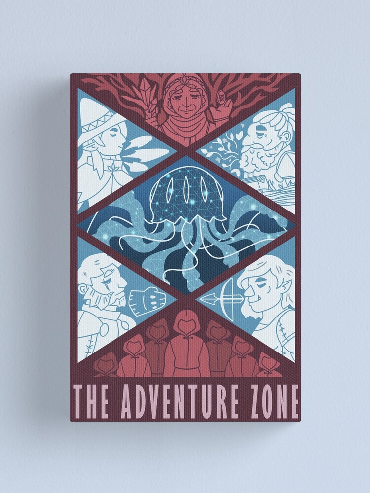 Alternate view of The Adventure Zone Canvas Print