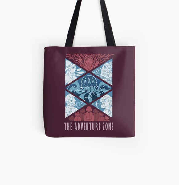 The Adventure Zone All Over Print Tote Bag