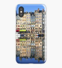 Honfleur harbour in Normandy, France iPhone Case