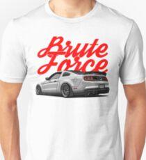 Brute Force. Mustang Unisex T-Shirt