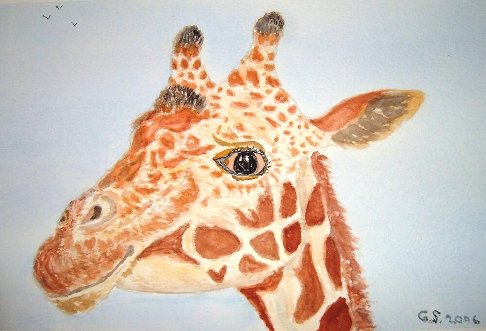 Giraffe by GEORGE SANDERSON