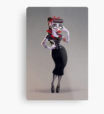 Sandrine the Vampire Metal Print