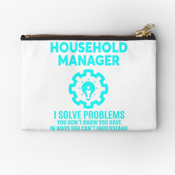 HOUSEHOLD MANAGER - NICE DESIGN 2017 Zipper Pouch