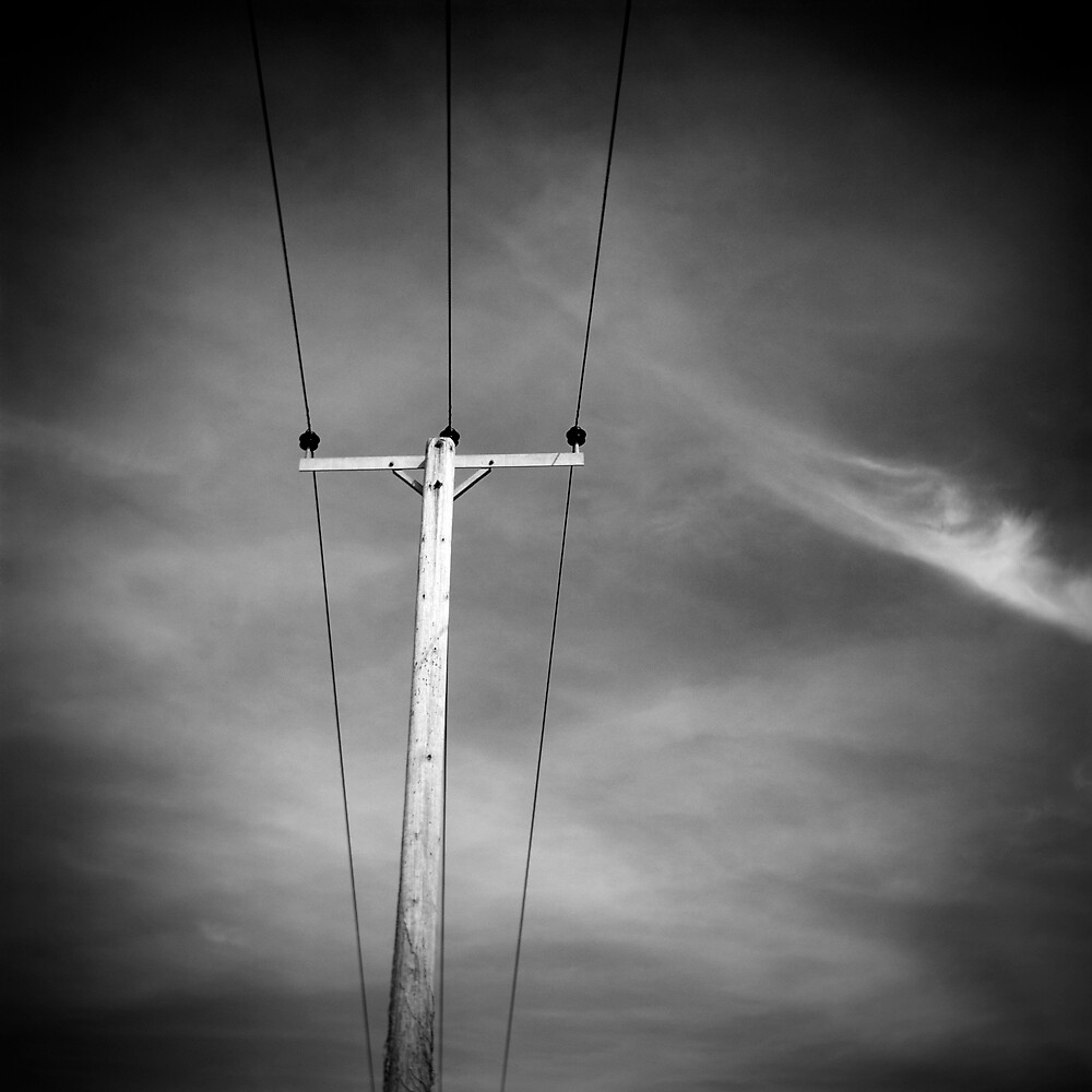 Lone Pylon by David Pearson