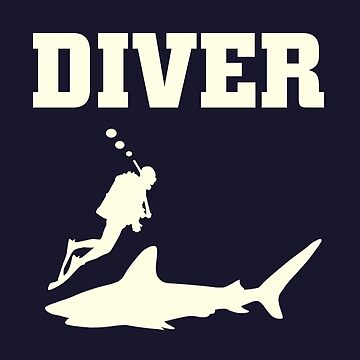 Diver white color by margner