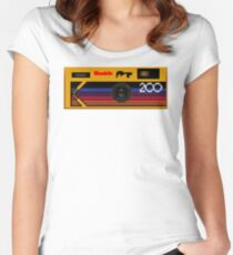Disposable Photography Women's Fitted Scoop T-Shirt