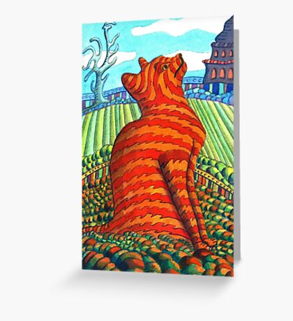 171 - MAO (WATERCOLOUR) - DAVE EDWARDS - 2007 Greeting Card