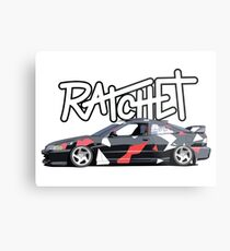 RATCHET Integra Metal Print