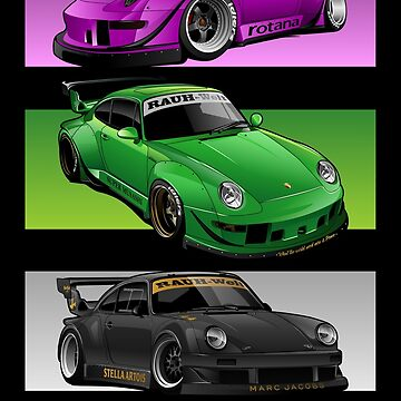 RWB - Three Masterpiece by aquillacallista