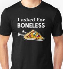 Boneless Pizza shirt Slim Fit T-Shirt