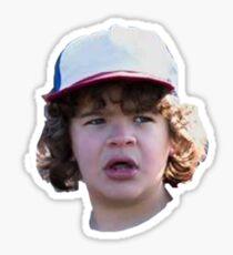 Stranger Things Dustin Face Sticker
